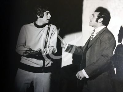 Raymundo Capetillo y Héctor Suárez