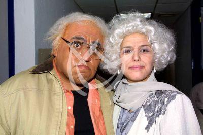 Angélica Vale y Miguel Galván en La Parodia