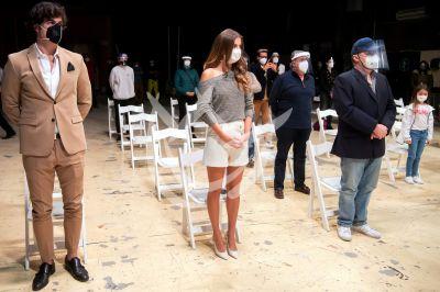 Michelle Renaud y Danilo Carrera lo quieren todo