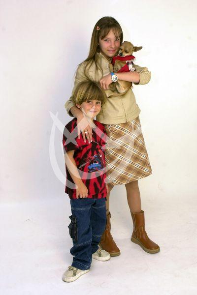 TBT Belinda y su hermano Nachito ¡qué tiernos!