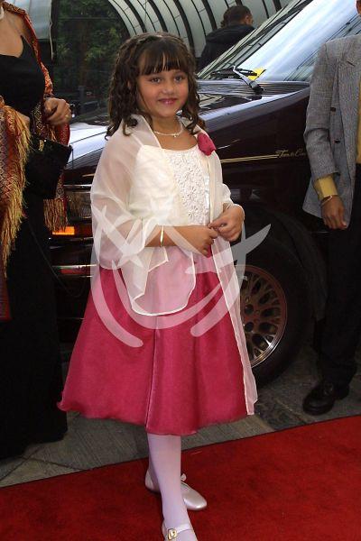 Daniela Aedo en Premios Tv y Novelas 2001