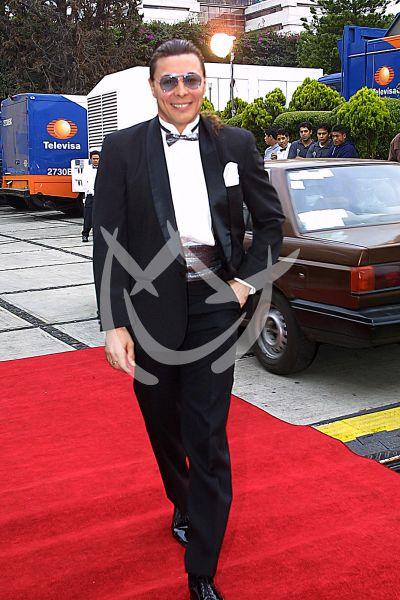 Armando Palomo en Premios Tv y Novelas 2001