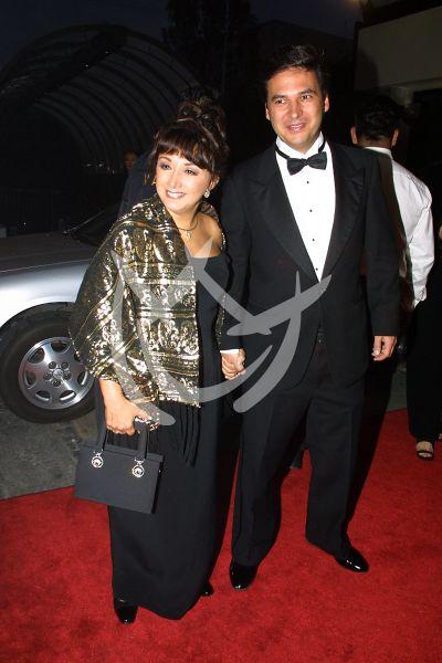 María Antonieta de las Nieves y su hijo en Premios Tv y Novelas 2001