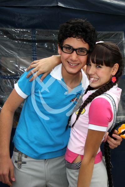 Alex Speitzer y Danna Paola 2009