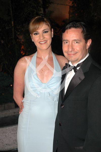 Chantal Andere y Roberto Gómez Fernández