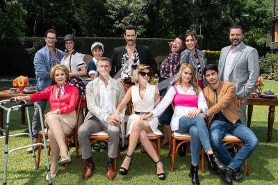 La Mexicana y El Güero, elenco