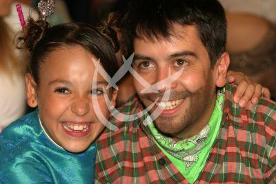 Danna Paola y Carlos Espejel en Pablo y Andrea