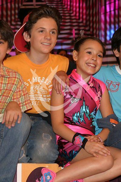 Danna Paola y Jesús Zavala en Pablo y Andrea