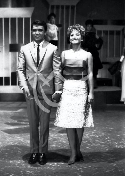 Angélica María y Enrique Guzmán 1965