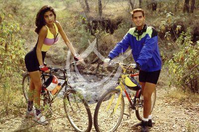Paty Manterola y Xavier Ortiz 1992