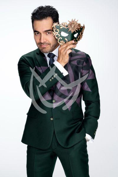 Omar Chaparro en Quién Es La Máscara