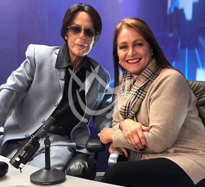 Alfredo Palacios y Daniela Romo