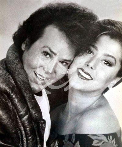 Alfredo Palacios y Alejandra Guzmán
