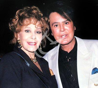 Alfredo Palacios y Silvia Pinal