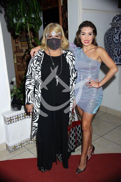 Andrea Escalona y mamá Magda