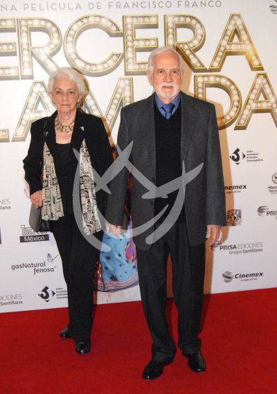Ricardo Blume y esposa