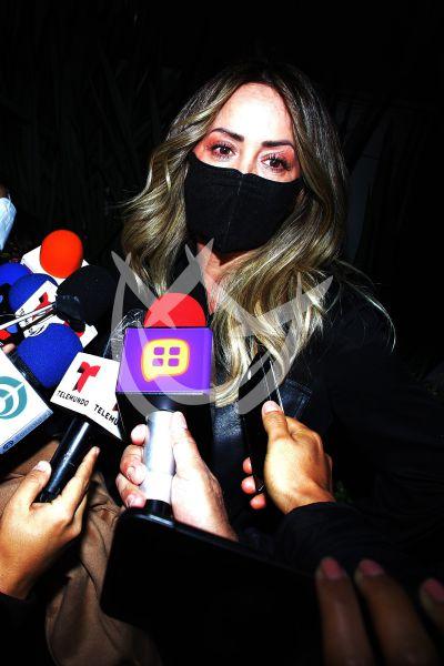 Andrea Legarreta despide a Magda