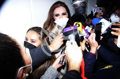 Lucía Méndez despide a Magda