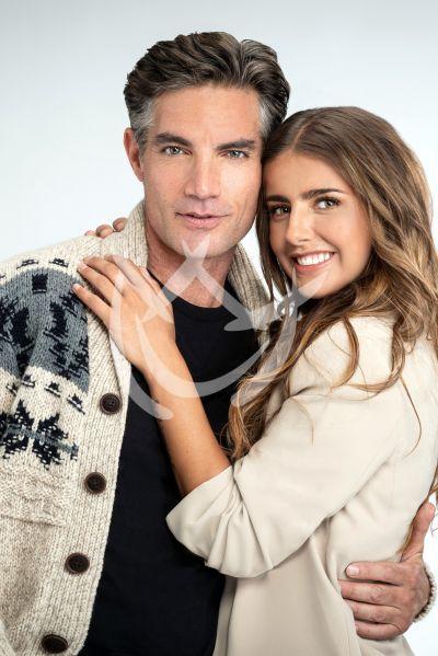 Michelle Renaud y Victor González en Quererlo Todo