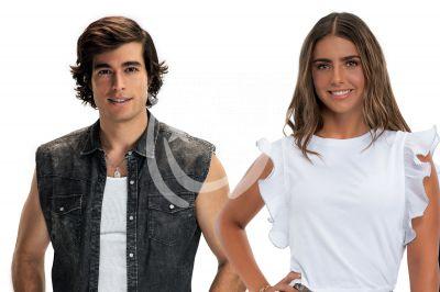 Michelle Renaud y Danilo Carrera en Quererlo Todo