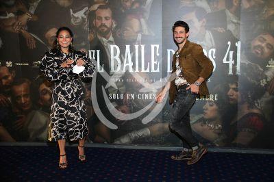 Emiliano y Mabel en El Baile de los 41