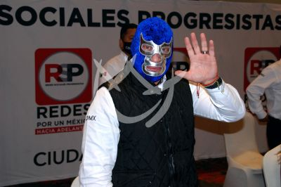 Blue Demon Jr a la política