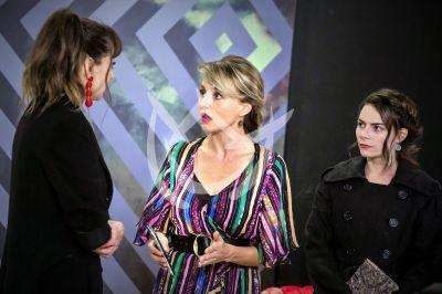 Angelique, Susana y Alejandra
