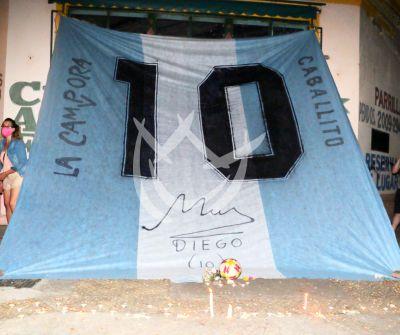 Ultimo adiós a Maradona en su barrio