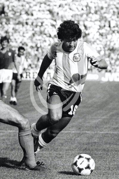 Maradona en España 82