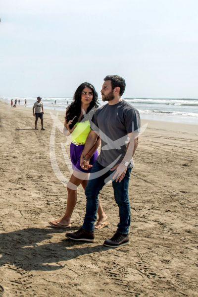 Claudia Martin y Carlos Ferro en Acapulco