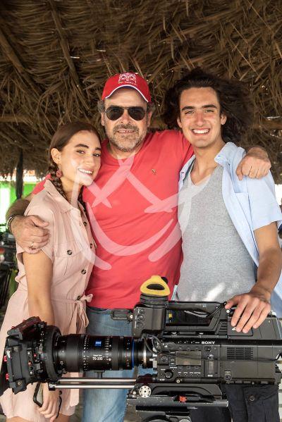 Sebastián Poza y Maya Ricote en Acapulco