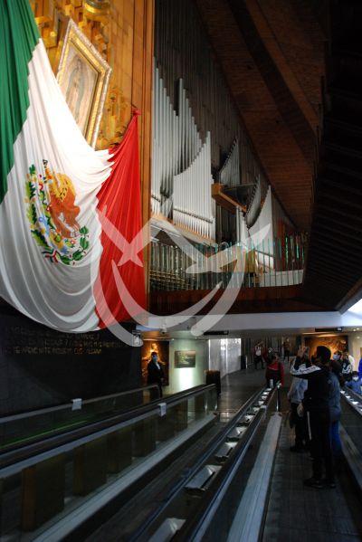 Así luce la Basílica de Guadalupe a días de cerrarse