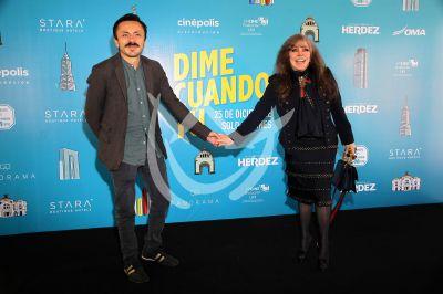 Verónica y Michel Castro en Dime Cuando Tú
