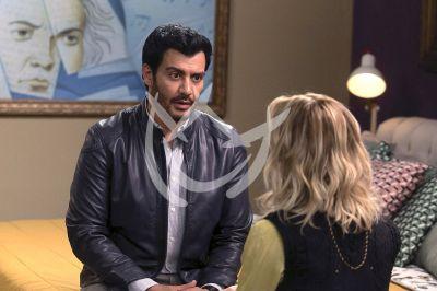 Angelique y Andrés en Imperio de Mentiras