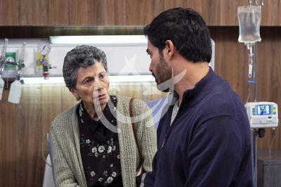 Andrés y Patricia en Imperio de Mentiras