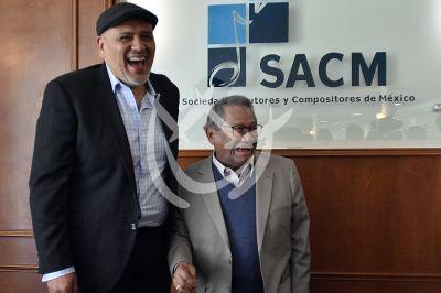 Armando Manzanero en la SACM
