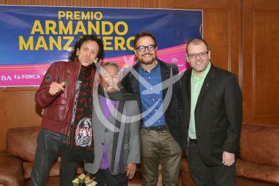 Armando Manzanero con Alex Lora y Aleks Syntek