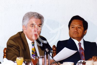 Roberto Cantoral y Armando Manzanero 1995