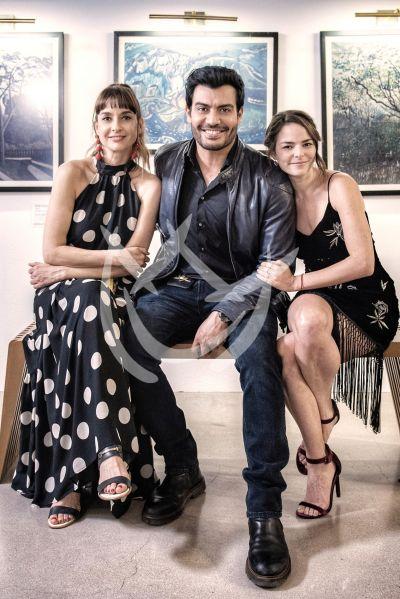 Andrés, Susana y Alejandra en Imperio de Mentiras