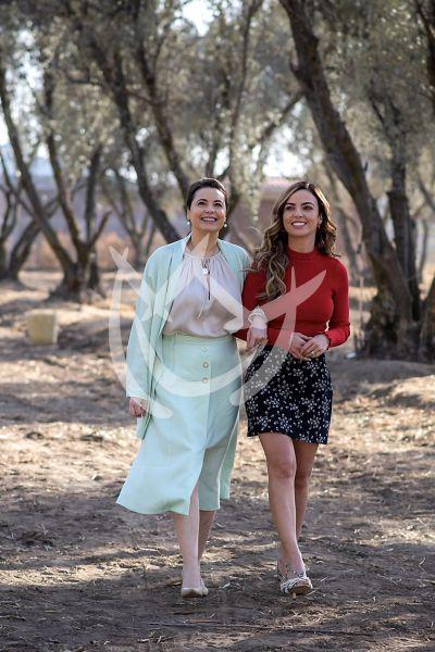 Mariana y Yolanda en Fuego Ardiente