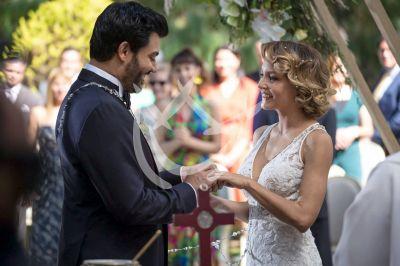 Angelique y Andrés al final de Imperio de Mentiras