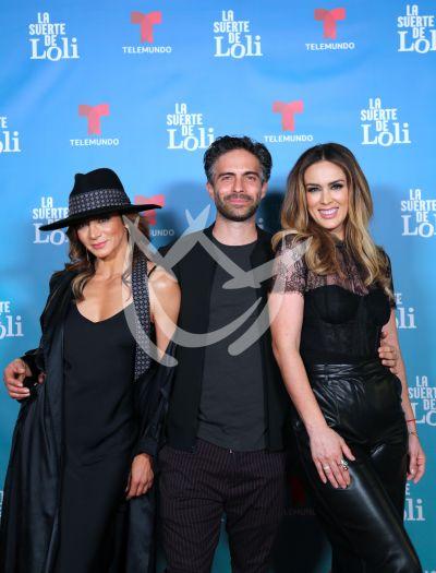 Silvia  con Osvaldo y Jacky con Suerte