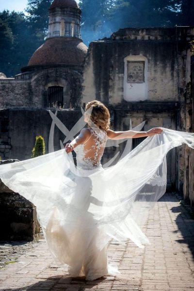Angelique Boyer de novia ¡bellísima!