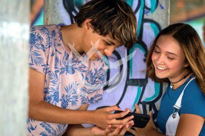 Nina y Alessio en ¿Te Acuerdas De Mí?