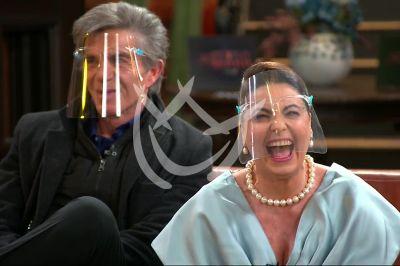 Yolanda y Fernando en Fuego Ardiente