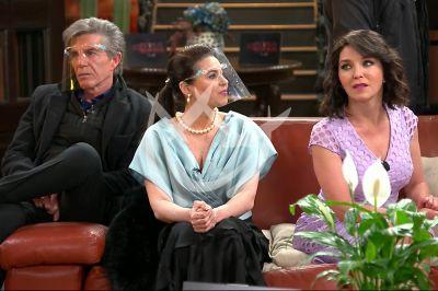 Laura, Yolanda y Fernando en Fuego Ardiente