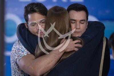 David, Daniela y Emmanuel Vencen El Desamor