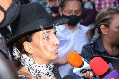 Shaula Vega despide a mamá Isela