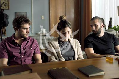 Paulina, Rodrigo y Giuseppe en Después De Ti