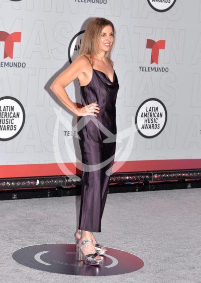 Leila Cobo en los Latin AMAs 2021